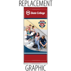 CampaignExtra Retractable Replacement Banner