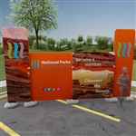 Impact! Canyonlands 20ft Fabric Outdoor Display