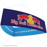 Fabric Hanging Banner Display Structure Shield
