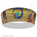 Hanging Banner Display Structure Tapered Ring