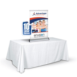 Replacement Banner for Envision Table Top Display