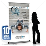 Envision 48 Premium Retractable Banner