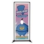 FrameWorx Junior Face Cut Out Banner Display