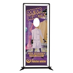 FrameWorx Single Face Cut Out Banner Display