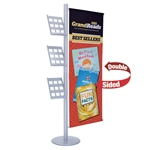 Flex Banner Display Lit Rack
