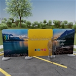 Impact! Glacier 20ft Fabric Outdoor Display