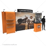 Impact Tension Fabric Modular Wall