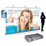 10ft Impact! Retractable Banner Wall Package
