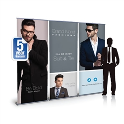 Impact 8ft Retractable Banner Stand Wall