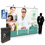 8ft Impact! Retractable Banner Wall Package