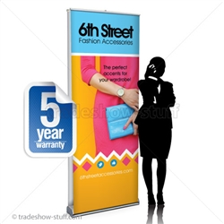 Impact 32 Dual Retractable Banner