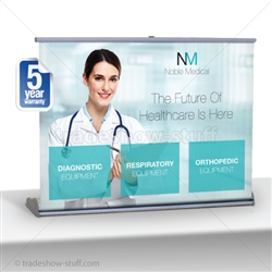 Impact 40 Retractable Table Top Banner Stand