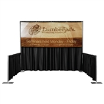 Pipe and Drape Backdrop Banners
