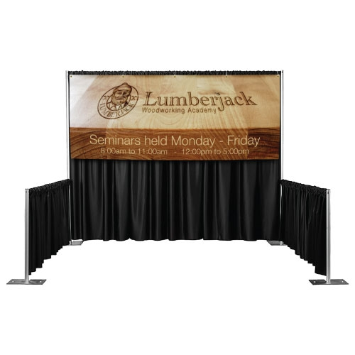 View Larger Photo Email ...  sc 1 st  Trade Show Displays Table Covers Banners - Tradeshow Stuff & Pipe and Drape Banners   Vinyl Backdrop Banners