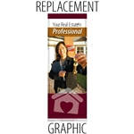 Replacement Banner Promoter Retractable
