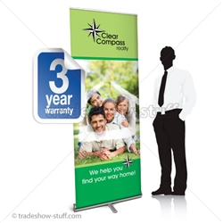 Promoter 32 Pull Up Banner Display