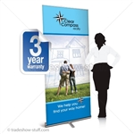 Promoter 36 Pull Up Banner Display