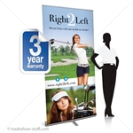 Promoter 40 Pull Up Banner Display