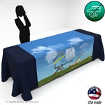 "72"" Wrinkle Free Trade Show Table Runners"
