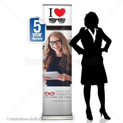 "Sabre 16"" Retractable Banner Display"