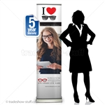 "Replacement Sabre16"" Retractable Banner"