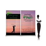 Sabre 8ft Retractable Banner Wall Display