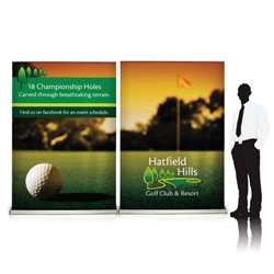 Sabre 10ft Retractable Banner Wall