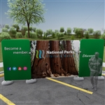 Impact! Sequoia 20ft Fabric Outdoor Display