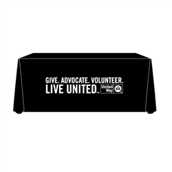 United Way Imprinted Table Covers