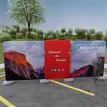 Impact! Yosemite 20ft Fabric Outdoor Display