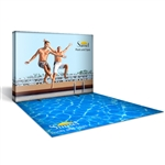 Captivate 10ft PopUp w/ Custom Printed Floor