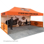 Vantage 10x20 Canopy Tent with Sides [Sidewalls included in package]