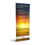 Retractable Banner Display w/ Professional Design - Ag2