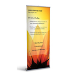 Retractable Banner Display w/ Professional Design - Ag3