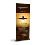 Retractable Banner Display w/ Professional Design - Av1