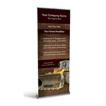 Retractable Banner Display w/ Professional Design - Const3