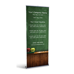 Retractable Banner Display w/ Professional Design - Edu3