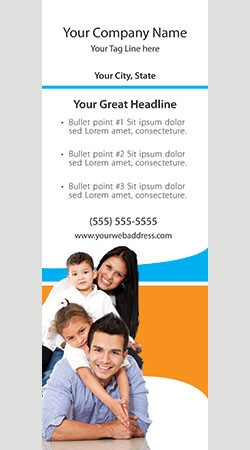 Retractable Banner Display w/ Professional Design - Gen1