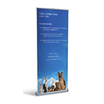 Retractable Banner Display w/ Professional Design - Gen3