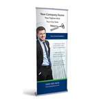 Retractable Banner Display w/ Professional Design - Gen5