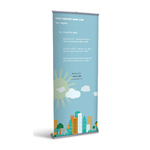 Retractable Banner Display w/ Professional Design - Gen6