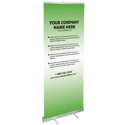 Banner Design - Green Apple