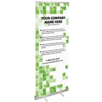 Banner Design - Green Tile