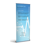Retractable Banner Display w/ Professional Design - MedCardio2