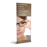 Retractable Banner Display w/ Professional Design - MedOpt1