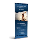Retractable Banner Display w/ Professional Design - TmWk2