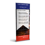 Retractable Banner Display w/ Professional Design - USA2