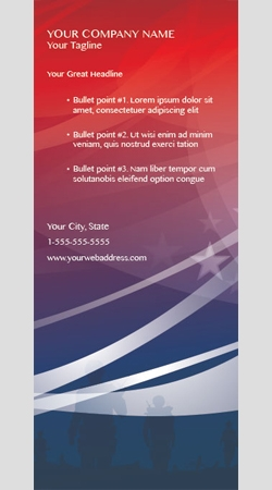 Retractable Banner Display w/ Professional Design - USA4