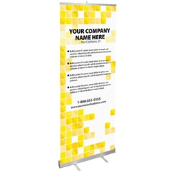 Banner Design - Yellow Tile