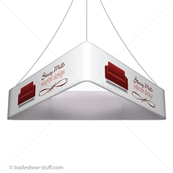 Blimp Trade Show Ceiling Banner 10 Trio